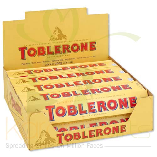 Toblerone 20 Bars (100gm Each)