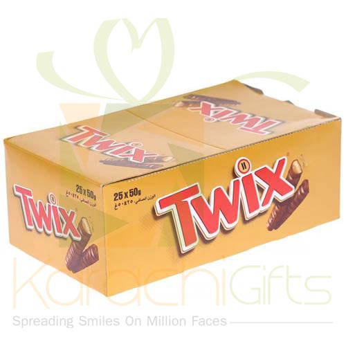 Twix Chocolates 24 Bars (50gm Each)
