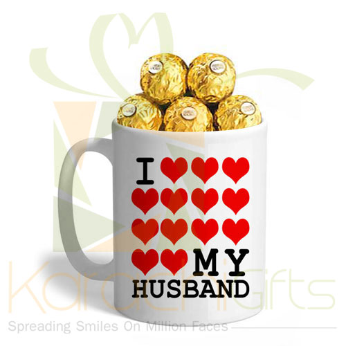 Ferrero In A Husband Mug