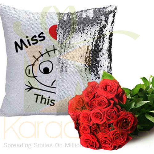 I Miss You (Cushion And Roses)