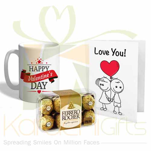 Mug With Card And Chocs