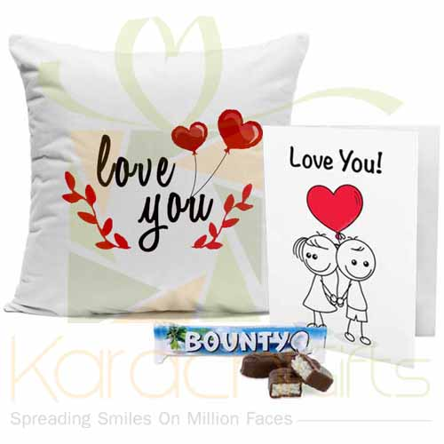 Cushion Chocolate Card