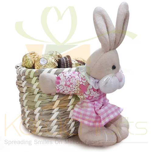 Cuddly Chocolate Basket