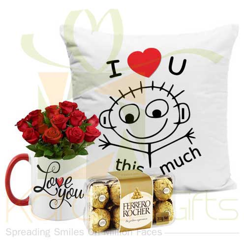 Cushion Love Mug Rochers