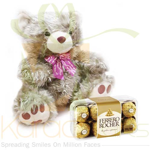 Ferrero With Golden Teddy