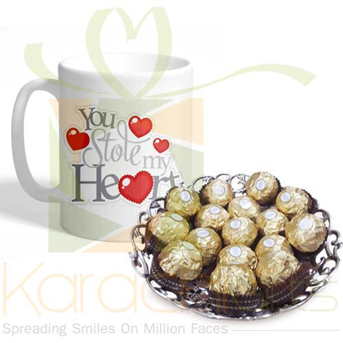 Mug With Rocher Tray
