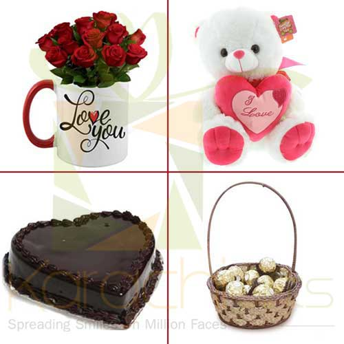 Valentine Treat (4 In 1 Deal)