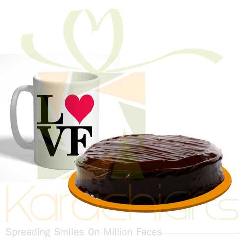 Love Deal (Cake and Mug)