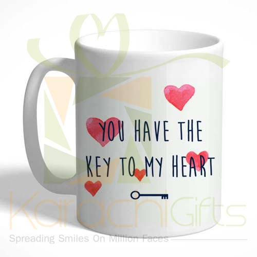 Key To My Heart Mug