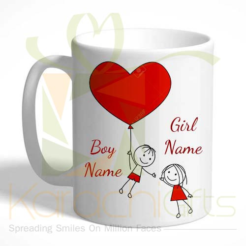 Couple Name Mug