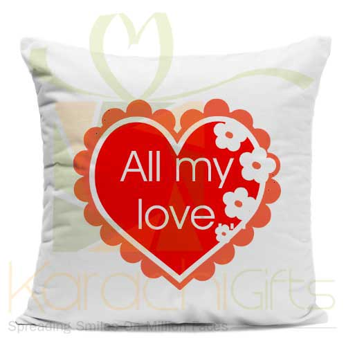 All My Love Cushion