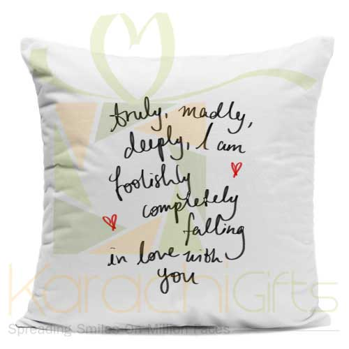 In Love With You Cushion