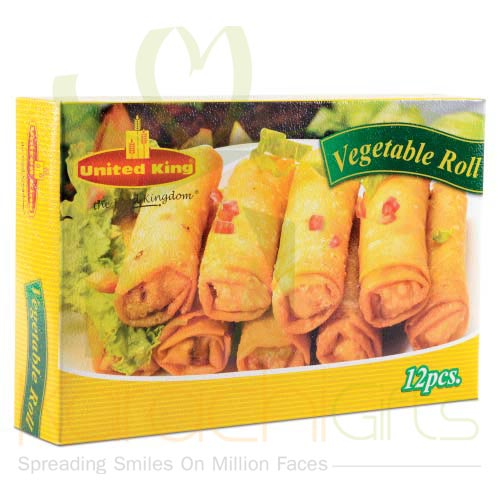 Vegetable Roll (2 Packets)