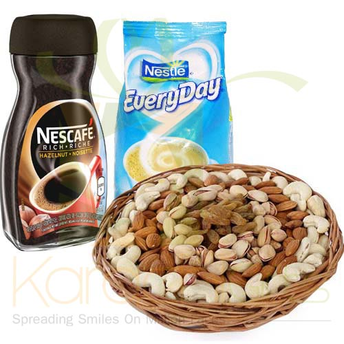 Dry Fruit Coffee Combo