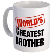 World Greatest Brother Mug