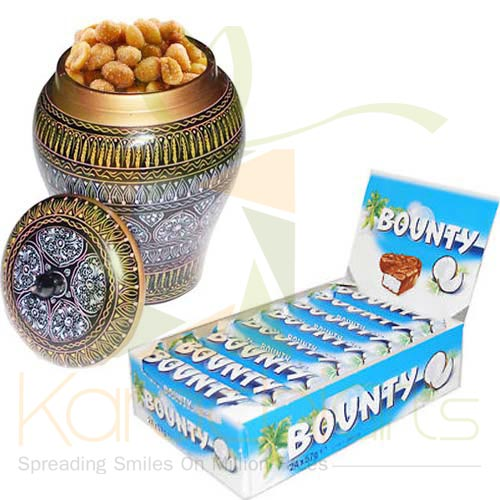 Dry Fruit Pot With Bounty